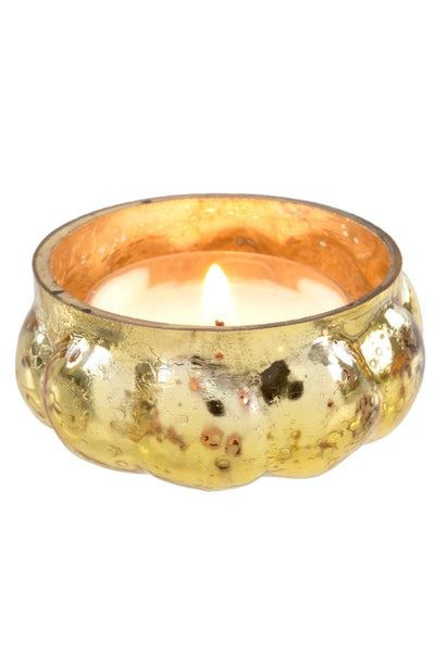 Moonlight Tealight Candleholder Gold