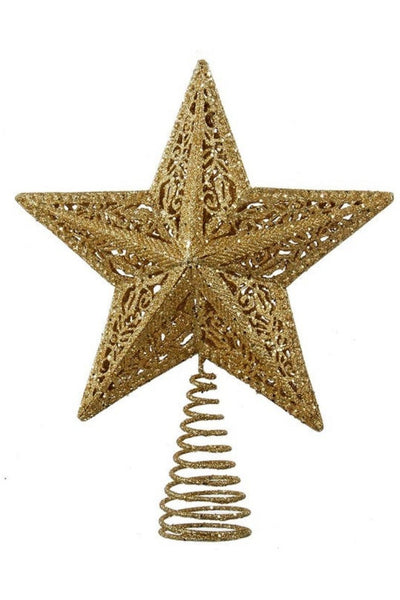 Gold Leaf Star Treetop