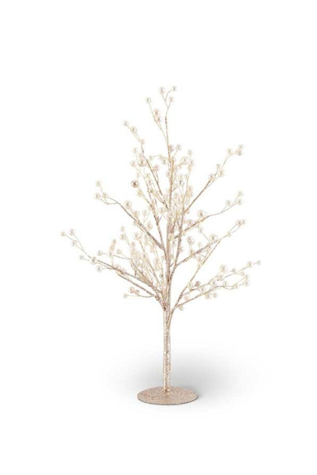 Gold Glittered Twig Tree