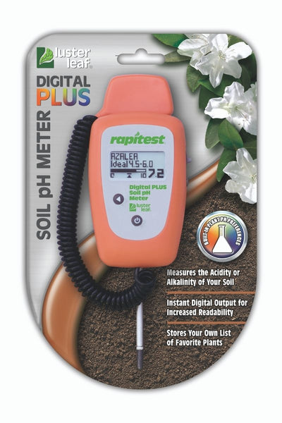 Digital PLUS Soil pH Meter