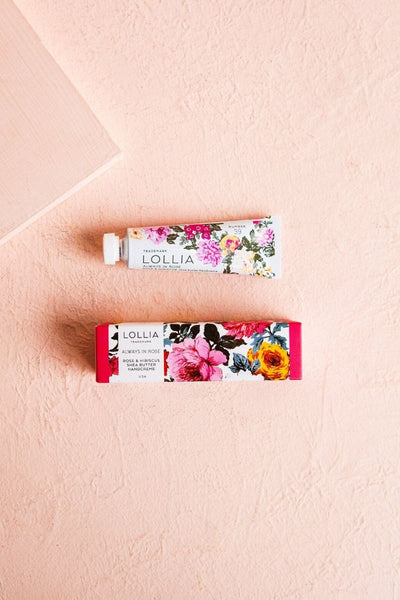 Lollia Petite Handcream Always In Rose