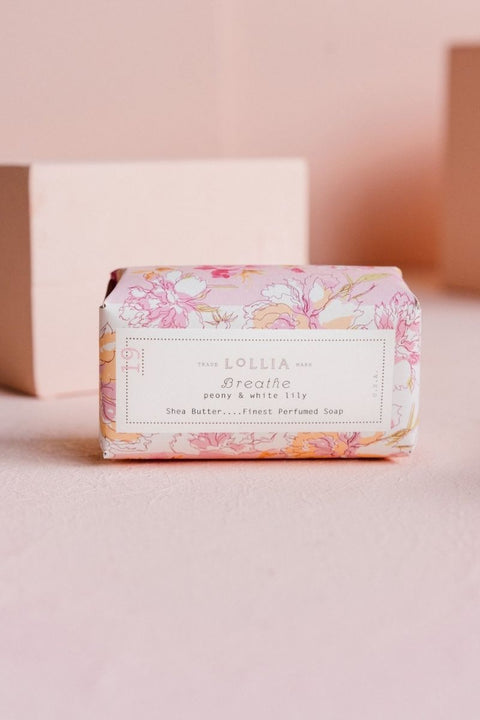 Lollia Shea Hand Soap Breathe