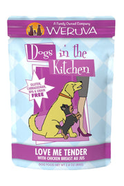 Weruva Dogs in the Kitchen Love Me Tender Pouch with with Chicken Breast Au Jus (2.8 oz)