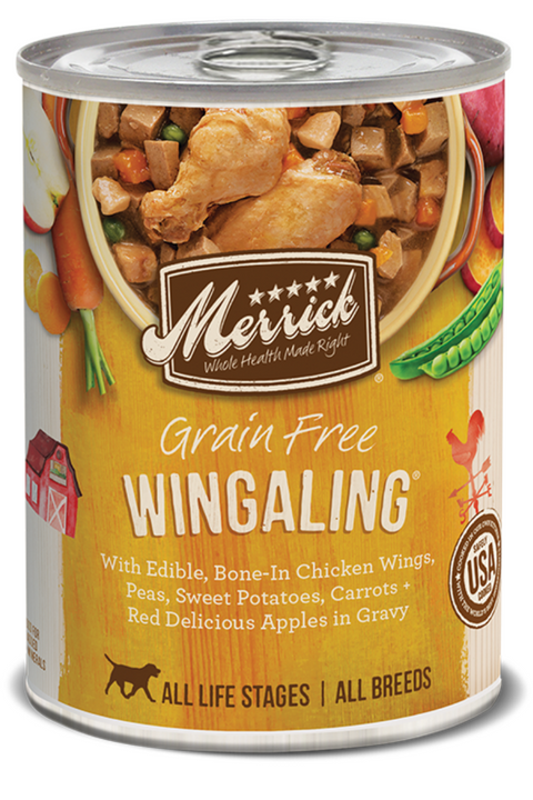 Merrick Grain Free Wingaling in Gravy Canned Dog Food