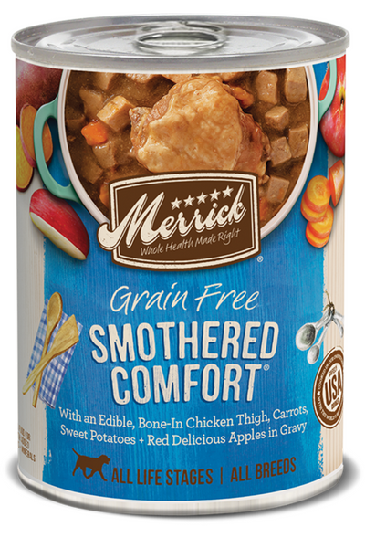 Merrick Grain Free Smothered Country in Gravy Canned Dog Fod