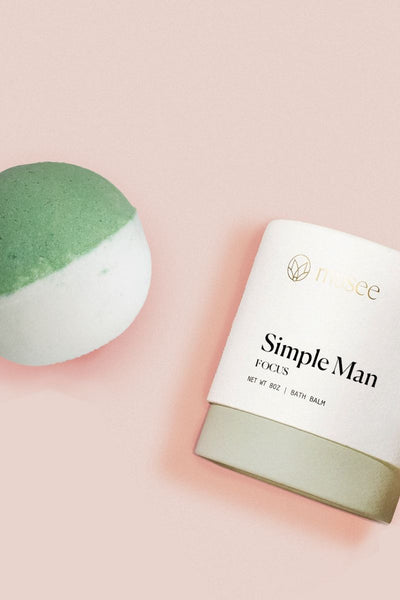 Musee Therapy Bath Bomb: Simple Man