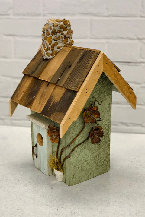 Green Flower Nature Creations Birdhouse