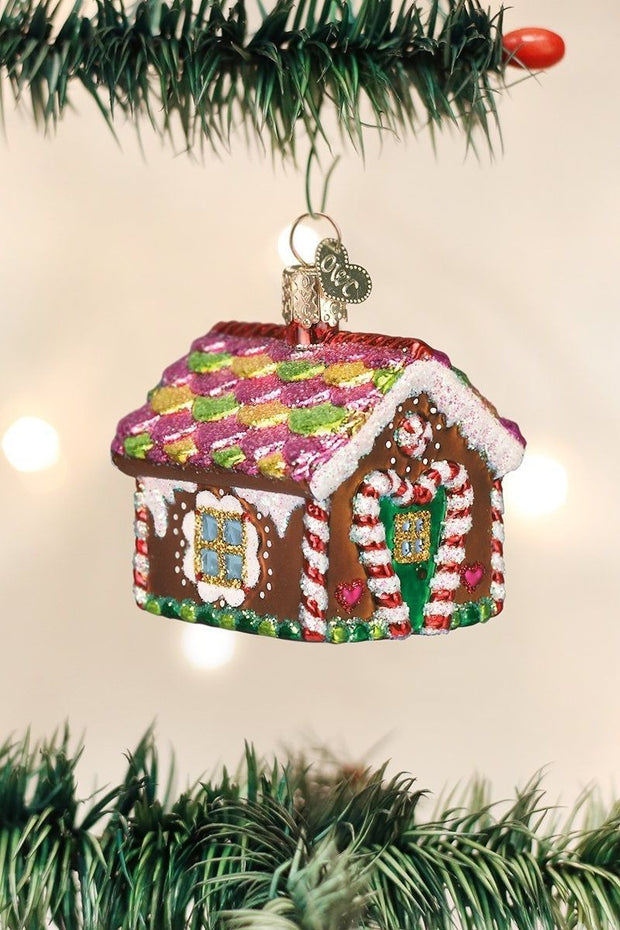 Ornament, Gingerbread House