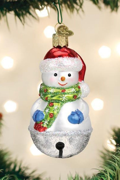 Ornament, Jingle Bell Snowman