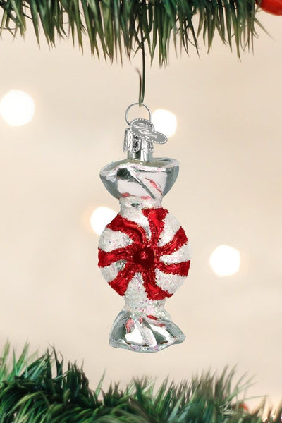 Ornament, Peppermint Candy