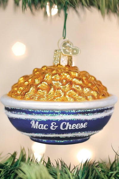 Ornament, Bowl Of Mac & Cheese