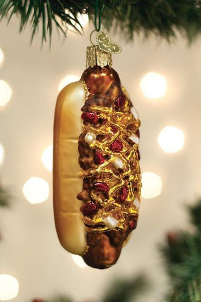 Ornament, Chili Cheese Dog
