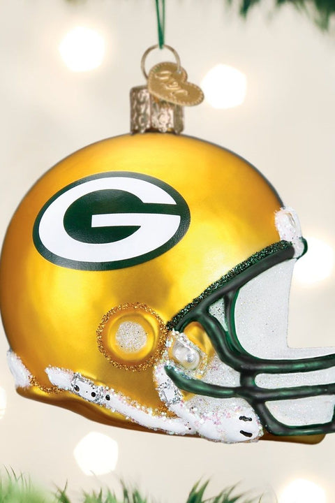 Ornament, Green Bay Packers Helmet