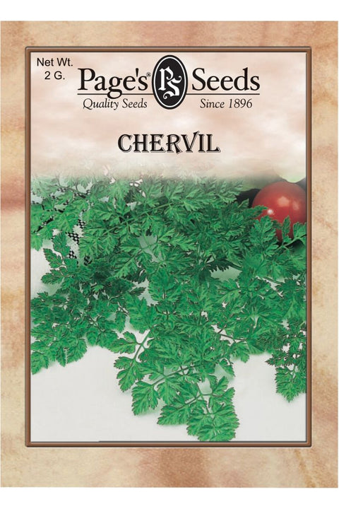 Page's Seeds, Chervil