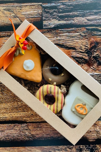 """Fall Coffee & Dessert Barkery Box"" Dog Treats 