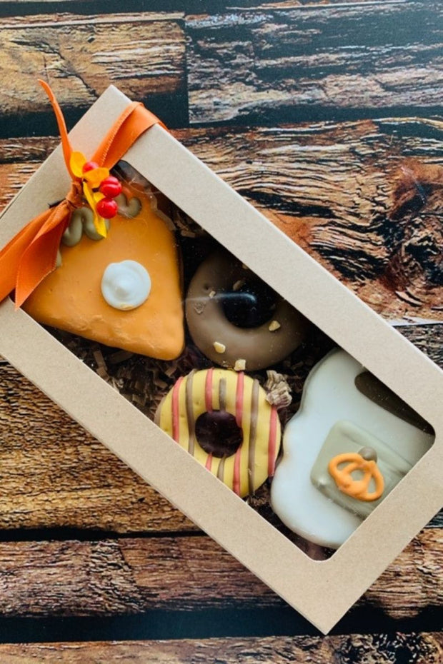 """Fall Coffee & Dessert Barkery Box"" Dog Treats"