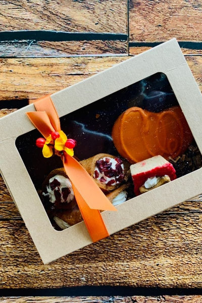 """Fall Barkery Box"" Thanksgiving Dog Treats 
