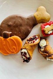 """Fall Barkery Box"" Thanksgiving Dog Treats"