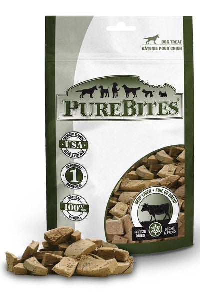 PureBites Freeze Dried Beef Treats 2 oz