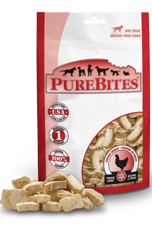 PureBites Freeze Dried Chicken Breast Treats 2 oz