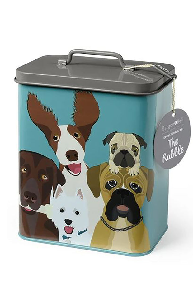 """The Rabble"" Dog Tin"