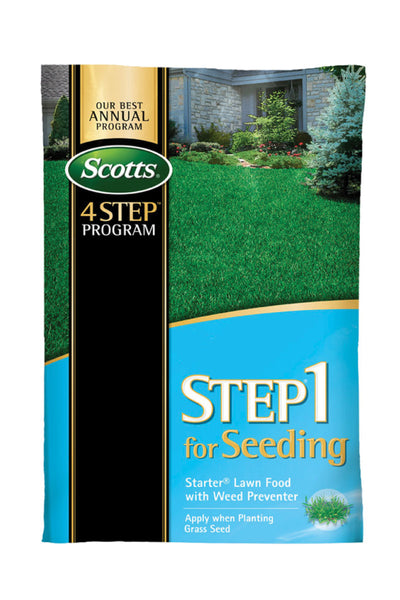 Scotts® STEP® 1 for Seeding Starter® Lawn Food with Weed Preventer