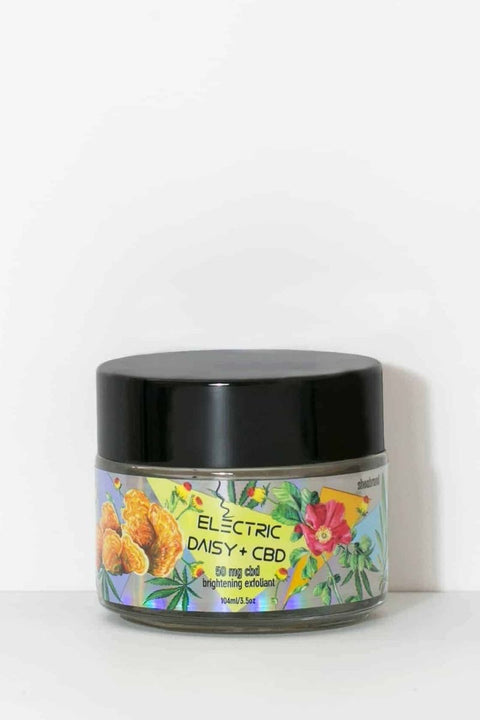 Electric Daisy Brightening CBD Exfoliant