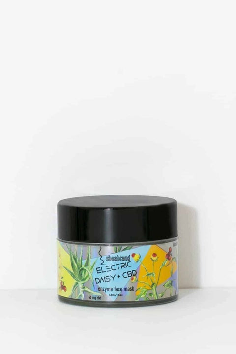 Electric Daisy Enzyme CBD Face Mask