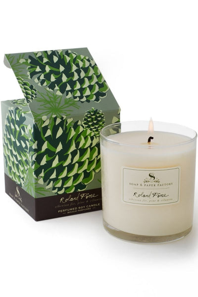 Soap and Paper Factory Roland Pine Large Soy Candle