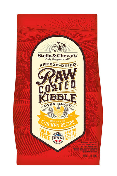Stella & Chewy's Cage-Free Chicken Raw Coated Kibble (22 lbs)