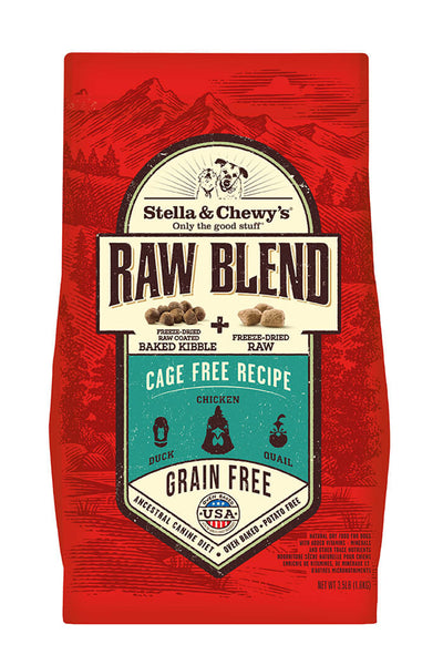 Stella & Chewy's Cage-Free Raw Blend Kibble Freeze-Dried Raw Blend