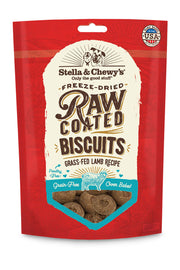 Stella & Chewy's Grass-Fed Lamb Raw Coated Biscuits (9 oz)