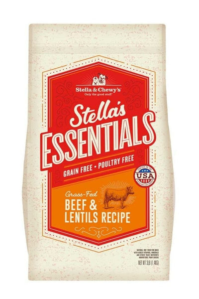 Stella & Chewy's Grain-Free Grass-Fed Beef & Lentils Recipe