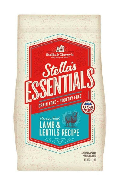 Stella & Chewy's Grain-Free Grass-Fed Lamb & Lentils Recipe