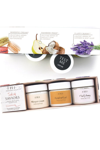 Shea Butter Sampler Set