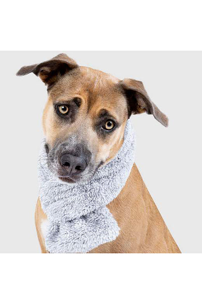 Canada Pooch Snuggle Dog Scarf (Small Grey)