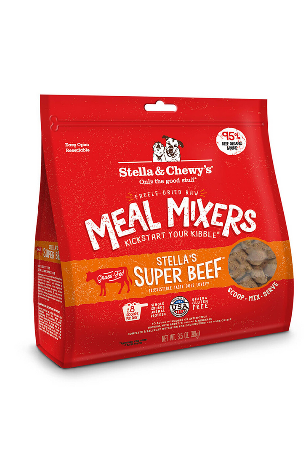 Stella's Super Beef Meal Mixers
