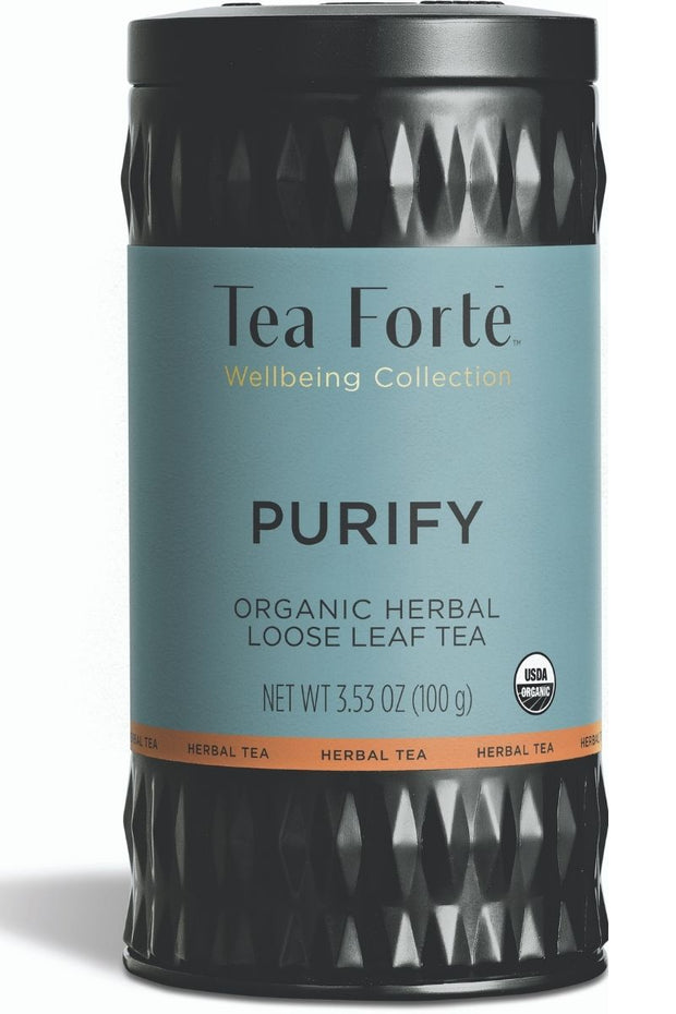 Tea Forte Loose Leaf Purify Wellbeing