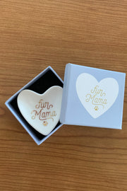 """Fur Mama"" Tiny Heart Tray"