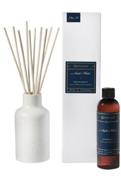 Aromatique The Smell of Winter Reed Diffuser Set