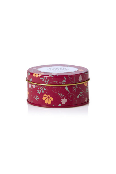 Rosy Rings Pumpkin Cardamom Travel Tin Candle