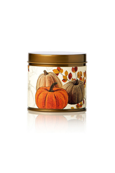 Rosy Rings Pumpkin Cardamom Tin Candle