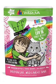 Weruva BFF Tuna and Lamb Luv Ya Recipe Pouches Wet Cat Food