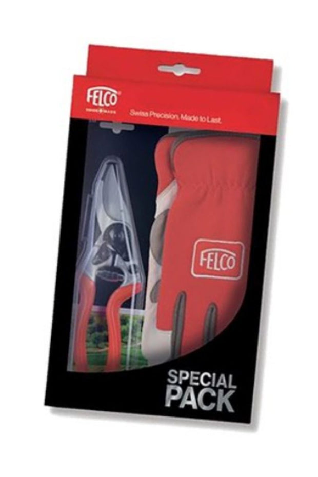 FELCO Gloves & Secateurs No. 6 Gift Box