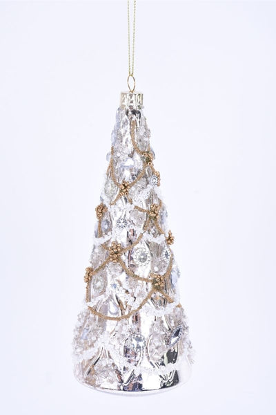 Ornament, Glass Jewel Tree