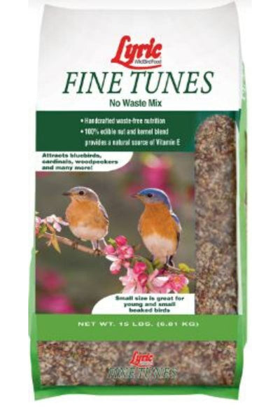 Lyric Wild Bird Food Fine Tunes No Waste Mix 15 lb.