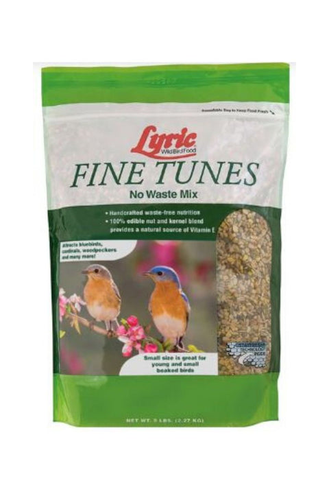 Lyric Wild Bird Food Fine Tunes No Waste Mix 5 lb.