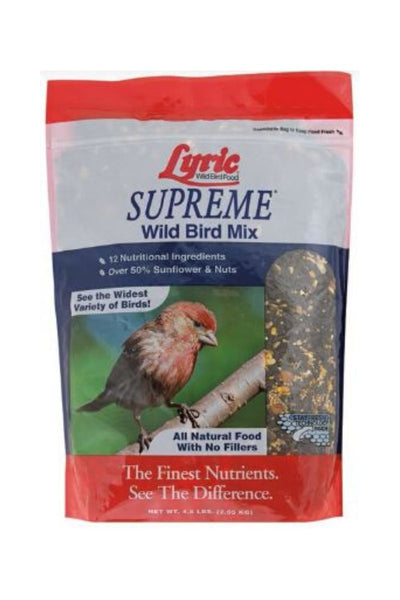 Lyric Supreme Wild Bird Mix 4.5 lb.