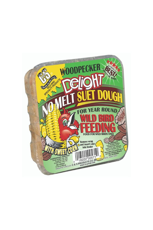 C&S Woodpecker Delight No Melt Suet Dough
