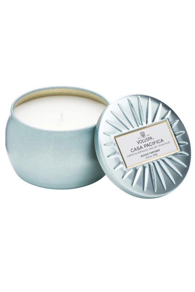 VOLUSPA, Casa Pacifica Petite Tin Candle